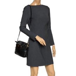 D&G Black/Brown Leather Crossbody Bag Dolce&Gabbana 298205