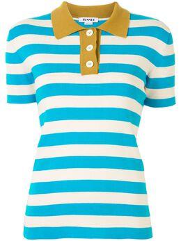 Sunnei рубашка поло в полоску WP01