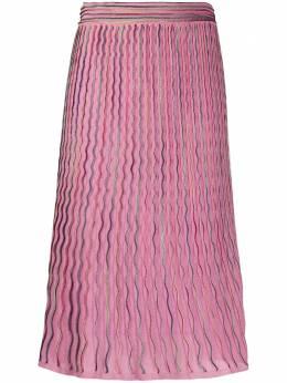 M Missoni фактурная юбка 2DH001472K006I