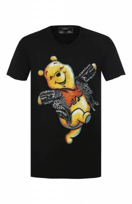 Хлопковая футболка Dom Rebel HAPPY/T-SHIRT
