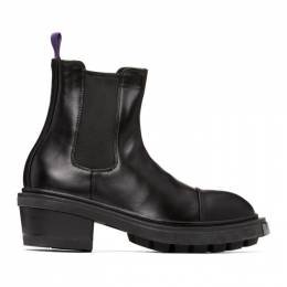 Eytys Black Nikita Chelsea Boots NIB