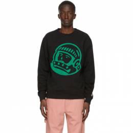 Billionaire Boys Club Black Embroidered Astro Sweatshirt B20277