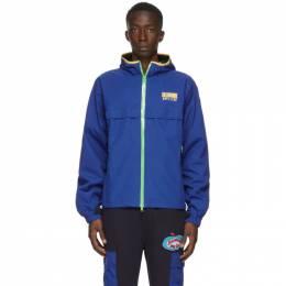 Billionaire Boys Club Blue Technical Zipped Jacket B20208