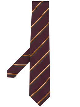 Etro галстук в диагональную полоску 120266026