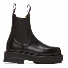 Eytys Black Ortega Chelsea Boots OrLB