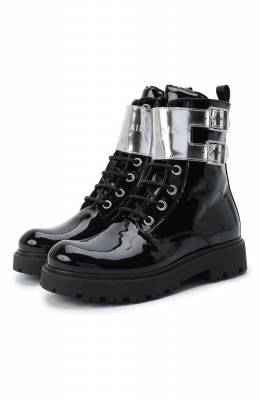 Кожаные ботинки Balmain 6N0536/NX430