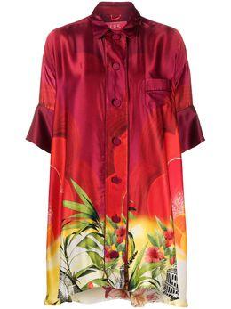 F.R.S For Restless Sleepers блузка оверсайз с абстрактным принтом AB0065