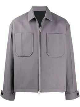 Oamc куртка-рубашка на молнии 421101443500