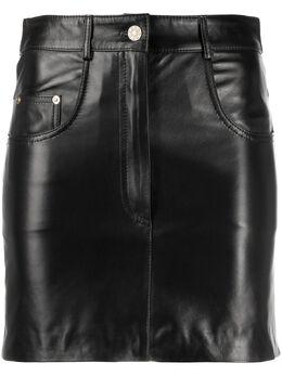 Manokhi юбка с завышенной талией AW20CLASSIC2BLACKMANO201A995
