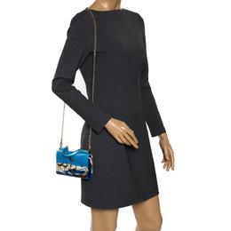 Dolce&Gabbana Multicolor Leather Venezia Sicily Von Smartphone Bag 299150