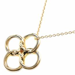 Tiffany & Co. Clover 18K Yellow Gold Necklace 298306