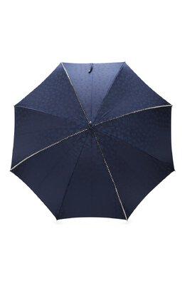 Зонт-трость Pasotti Ombrelli 416N/PLAT. BLU+TESCHI/W33