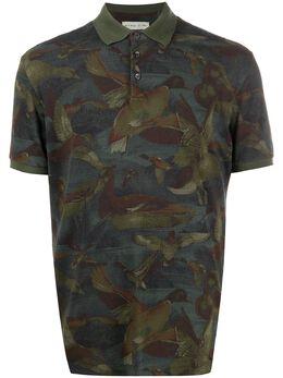 Etro рубашка поло с принтом 1Y8005575