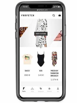 Dolce&Gabbana чехол для iPhone XS с логотипом BI2408AU770