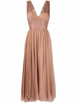Maria Lucia Hohan расклешенное платье с корсетом SORENAMIDIFLDRESS