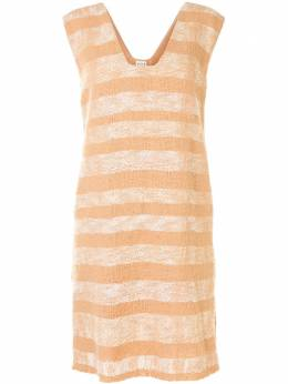 Voz платье в полоску с эффектом градиента 98404217