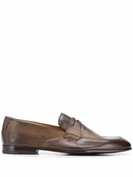 Doucal's лоферы с миндалевидным носком DU2367PANAUF036