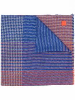 Salvatore Ferragamo шарф в технике пэчворк 717010006