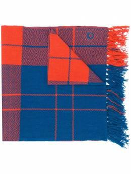 Salvatore Ferragamo шарф в клетку 723211002