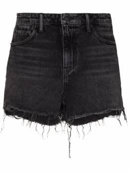 Alexander Wang джинсовые шорты с необработанными краями 4D994038AD