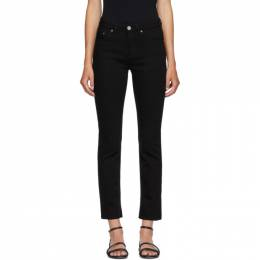 Toteme Black Straight Jeans 193-233-746