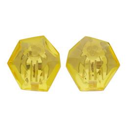 Monies Yellow Hailey Earrings 2-137Y