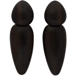 Monies Black Sao Paolo Earrings 1-010K
