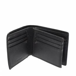 Montblanc Grey Leather Bifold Wallet 299117