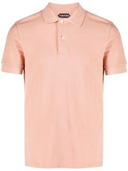 Tom Ford рубашка поло с короткими рукавами BU266TFJ982