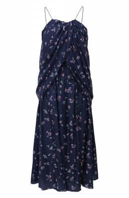 Шелковое платье Magda Butrym 1575204407