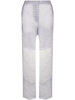 Cecilie Bahnsen полупрозрачные расклешенные брюки Elisabeth PF200053