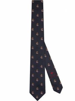Gucci галстук с узором Double G Crown 6240544E002
