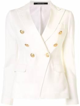 Tagliatore двубортный приталенный пиджак JALICYA10B57159