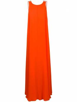 Halpern платье без рукавов с открытой спиной AW20D11
