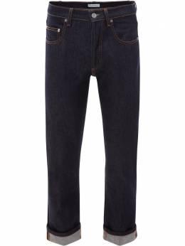J.W. Anderson джинсы кроя слим с подворотами TR0071PG0350870