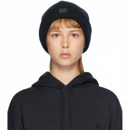 Acne Studios Black Patch Beanie C40075-