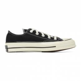 Converse Black Chuck 70 Low Sneakers 162058C