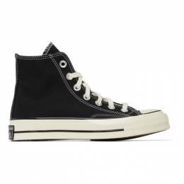 Converse Black Chuck 70 High Sneakers 162050C