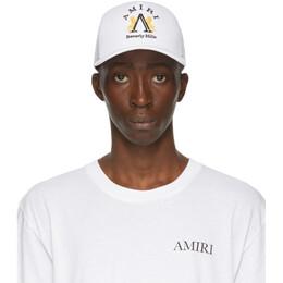 Amiri White Beverly Hills Cap F0A39139CO