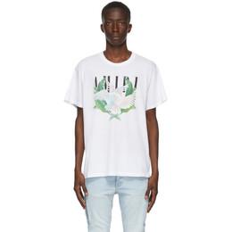 Amiri White Lovebirds T-Shirt F0M03239CJ