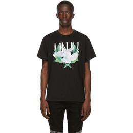 Amiri Black Lovebirds T-Shirt F0M03239CJ