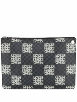 Louis Vuitton клатч Pochette Christopher Nemeth 2015-го года pre-owned LOUISVUITTONNEMETH