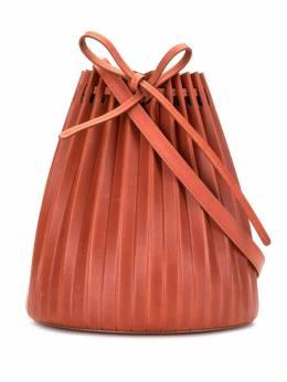 Mansur Gavriel сумка-ведро со складками WR20H001KD
