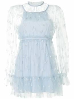 Alice Mccall платье Moon Lover с цветочной вышивкой AMD3287DOVE