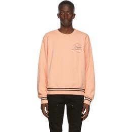 Amiri Pink Les Amoureux Sweatshirt F0M02221TE