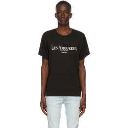 Amiri Black Les Amoureux Core T-Shirt F0M03238CJ