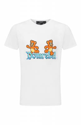 Хлопковая футболка Dom Rebel CASTLE/T-SHIRT