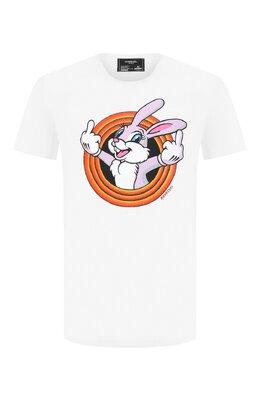 Хлопковая футболка Dom Rebel HUMPER/B0X T-SHIRT