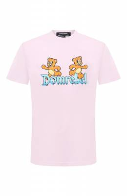 Хлопковая футболка Dom Rebel CASTLE/B0X T-SHIRT