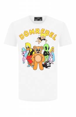 Хлопковая футболка Dom Rebel CLUB/T-SHIRT